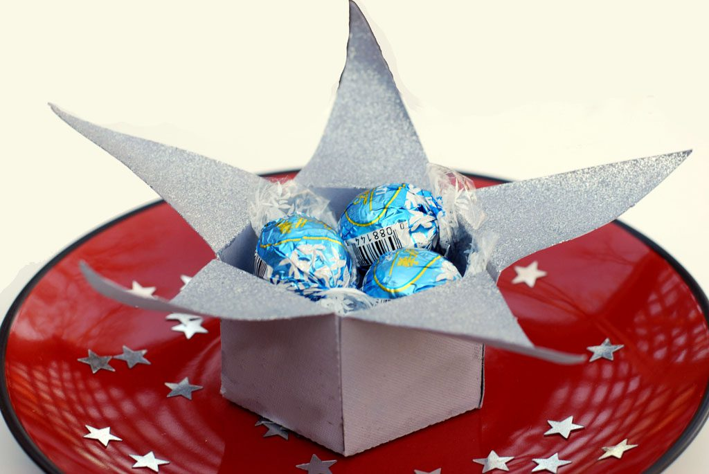 paper star favor box